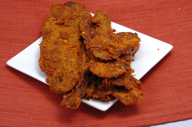 Beef Jerky - Curry (Kh� B� C� Ri) - Full Pound