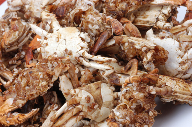 "Dried Baby Crabs - (Kho Cua ""Ram"") - Full Pound"