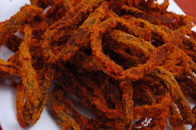 Beef Jerky - Shredded with Curry - (Ca Ri Soi) - Full Pound