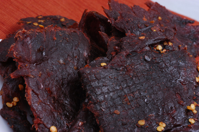 Beef Jerky - Hot - (Cay Ot) - Full Pound