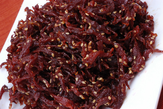 Beef Jerky - Shredded with Sesame Seeds - (Soi co Me)Full Pound